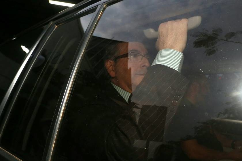 Em interrogatório, Cunha diz ter apresentado Geddel e Henrique Alves a Funaro