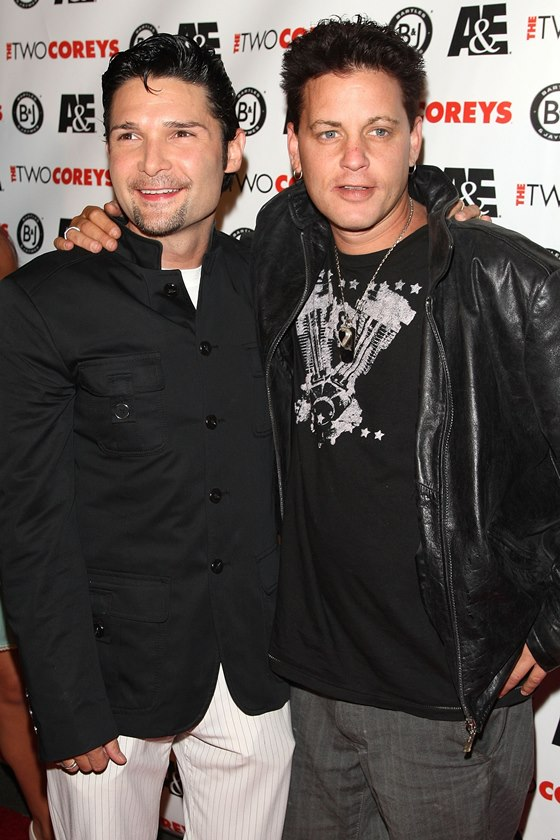 """A&E Premiere Of """"The Two Coreys"""" - Arrivals"""