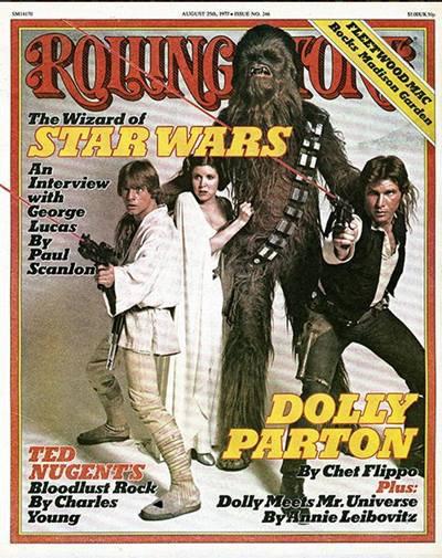rolling stone star wars 1977