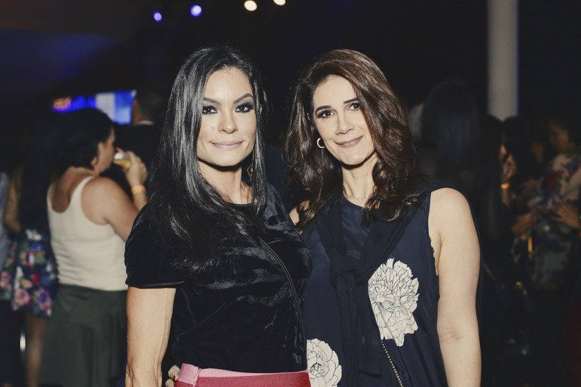 Anahí Terçarioli e Naima Hassan
