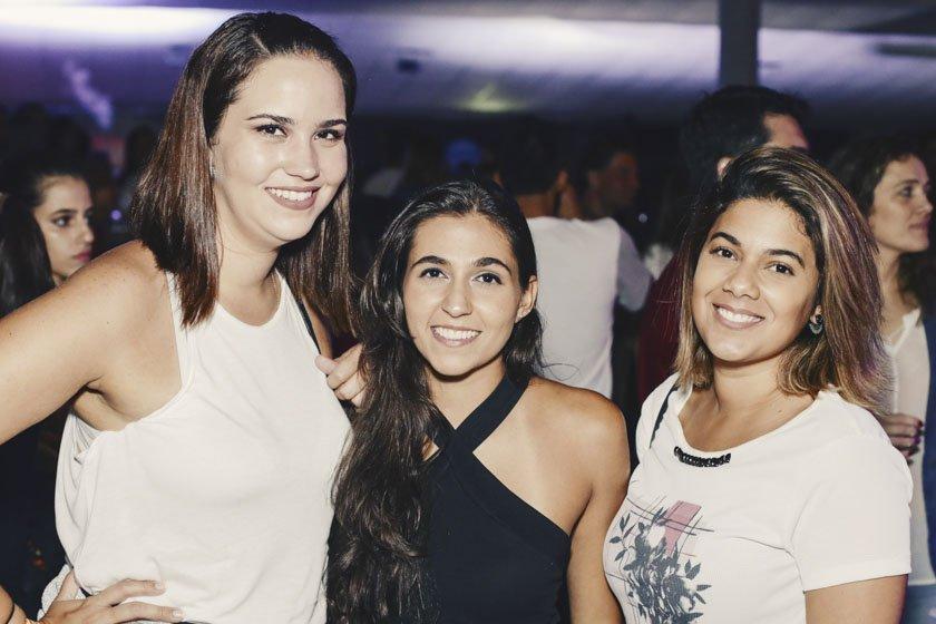 Bianca Gontijo, Bruna Caltabiano e Riane Carvalho