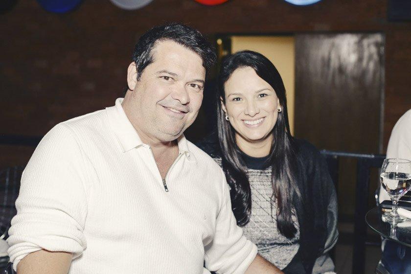 Carlos Alberto e Patrícia Castro