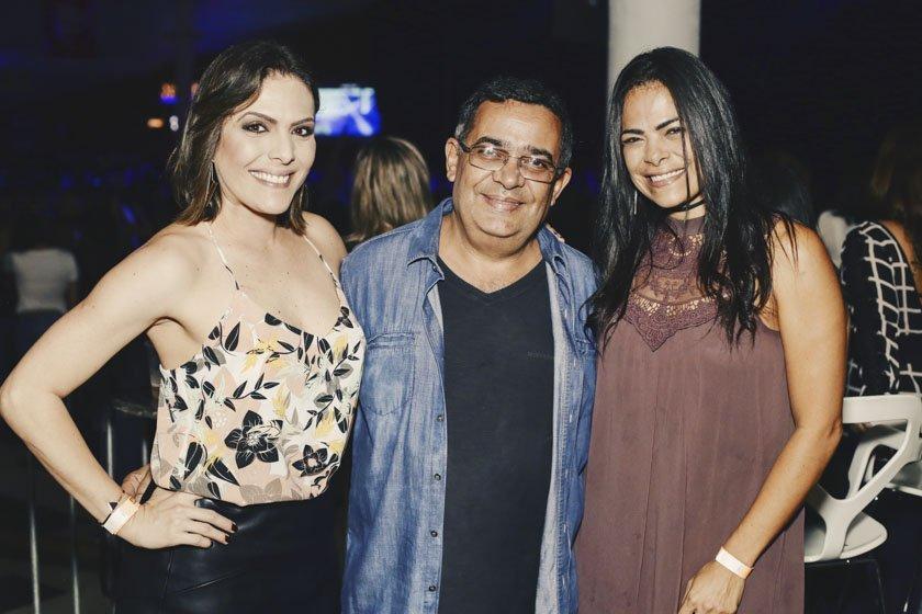 Elisa Guimarães, Daniel Dourado e Paola Abarca