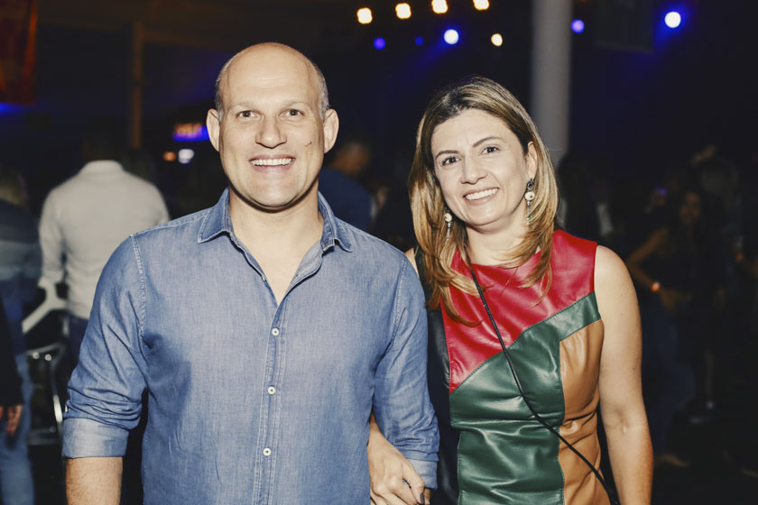 Fábio Gabriel e Patrícia Freitas