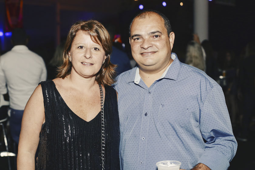 Luciana e Sandro Silva