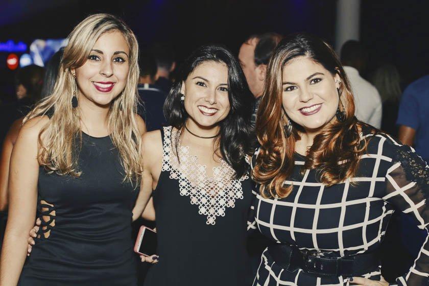 Monique dos Santos, Jéssica Milker e Viviane Santos