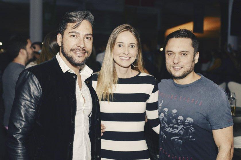 Rafael Godoy, Tatiana Vartuli e Eduardo Gontijo