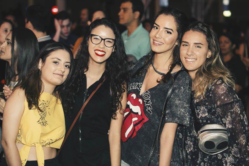 Tamara Tavares, Natalie Catarina, Mariana Lima e Amanda Gomes