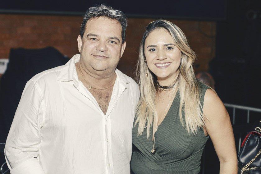 Walter Rocha e Kelly Camargos