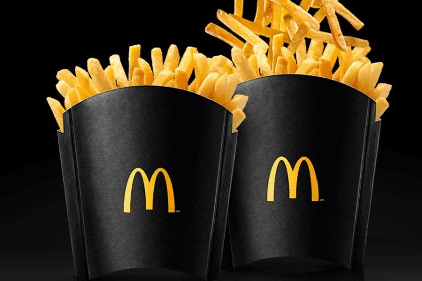 McDonald's vai ter refil de fritas nesta Black Friday