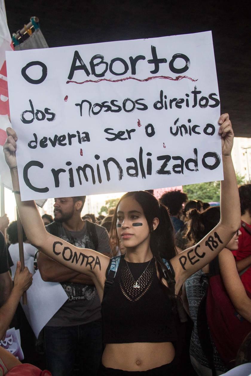 """Ativistas expõem o atraso do Brasil pelo aborto legal: """"Lidamos com casos brutais"""" 2"""