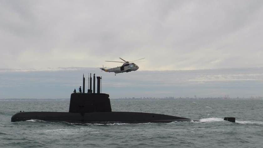 Navios e aeronaves que buscam submarino argentino investigam mais um ruído