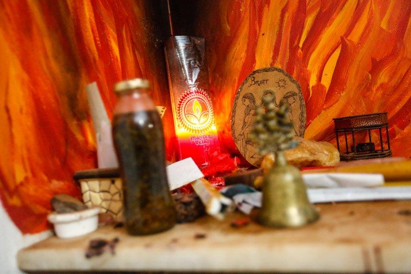 Perfil do Templo da Deusa, religião Wicca - Brasília(DF), 29/11/2017