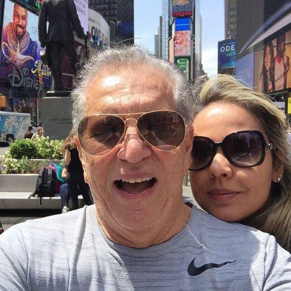 Carlos Alberto de Nóbrega e Renata Rodrigues