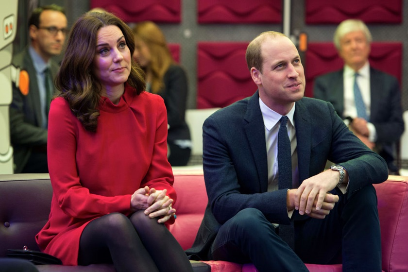 The Duke And Duchess Of Cambridge Attend