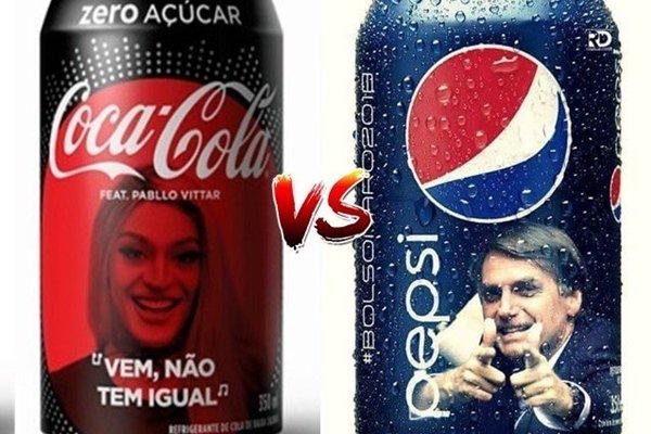 Notícia falsa de Jair Bolsonaro nas embalagens da Pepsi circula pela internet