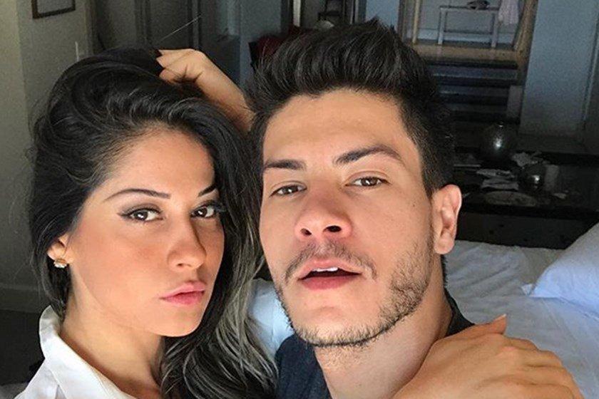 Mayra Cardi se casa com Arthur Aguiar de surpresa e fala de gravidez be16c0fe06