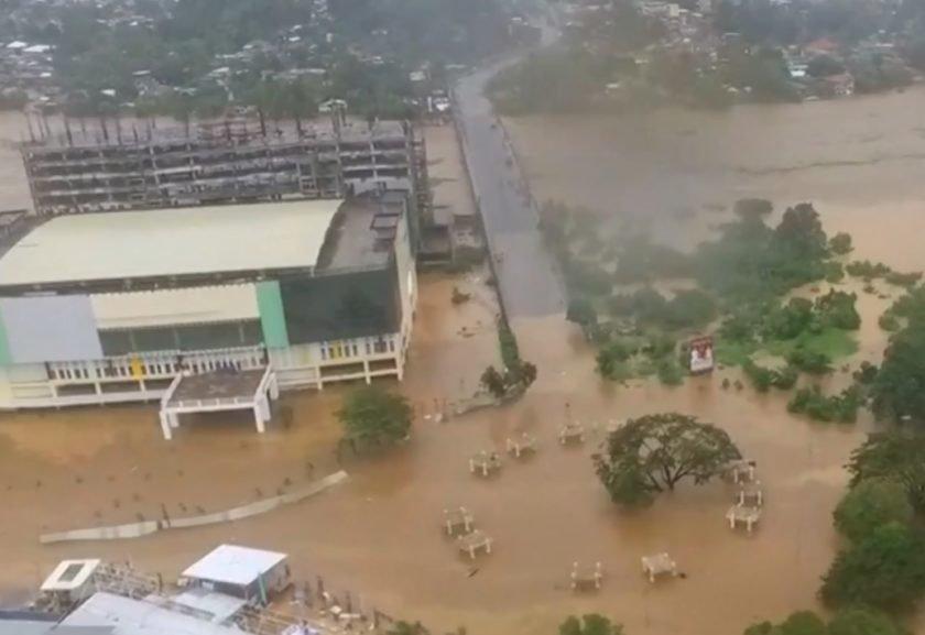 Tempestade Tembin deixa inúmeros mortos — Filipinas