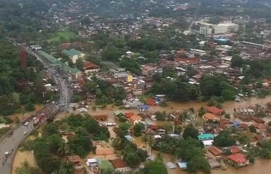 Tempestade Tembin deixa mais de 100 mortos nas Filipinas