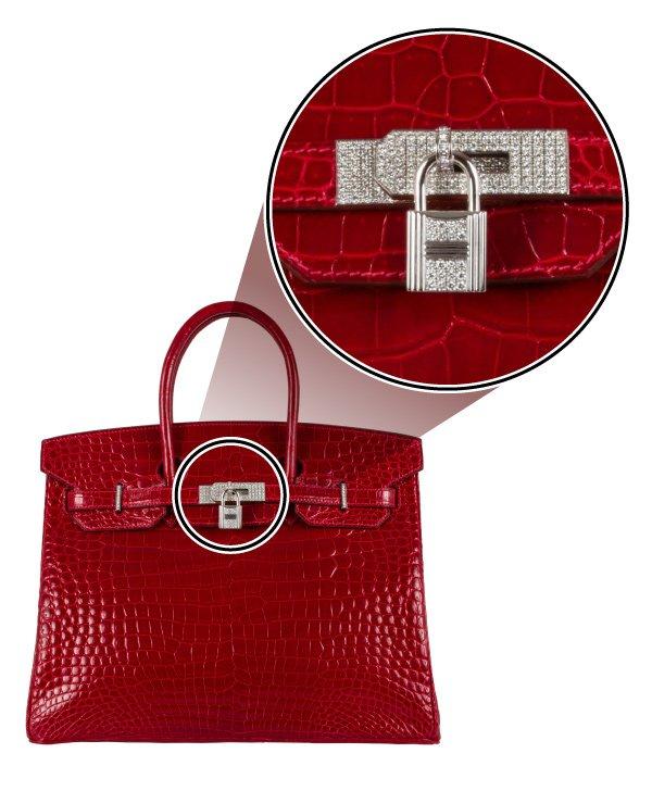 3c25787b916 Esta é a bolsa mais cara já produzida e vendida pela Hermès. Um comprador  anônimo de Los Angeles a arrematou por R  1 milhão. A peça foi  confeccionada em ...