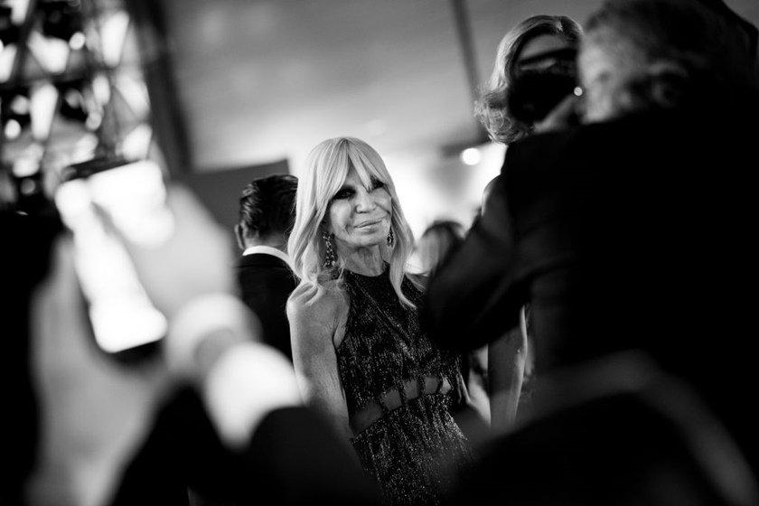 Estilista Donatella Versace