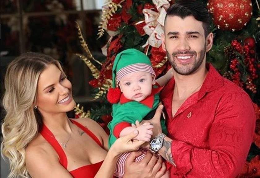 Gusttavo Lima e Andressa Suita anunciam que serão pais novamente