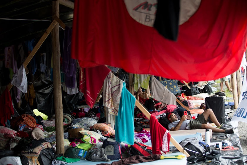 acampamento lula porto alegre