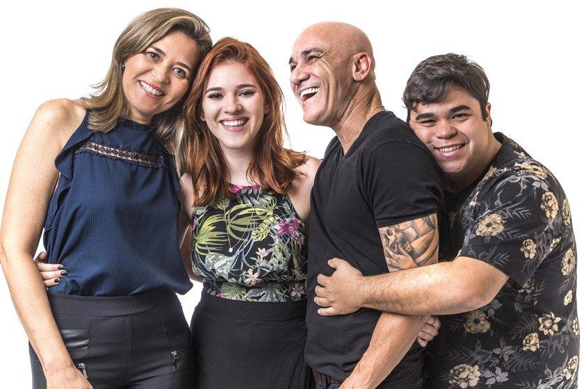 Eva, Ayrton, Ana Clara e Jorge