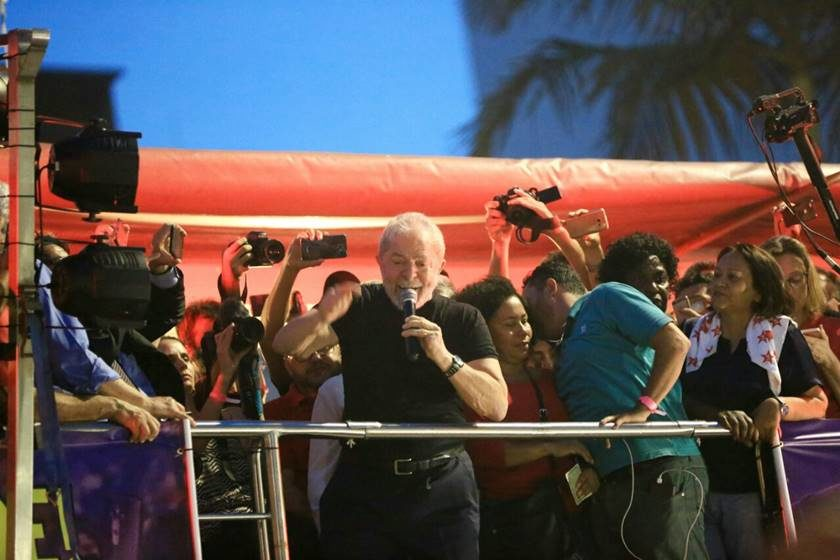 PT confirma presença de Lula em Porto Alegre nesta terça (23)