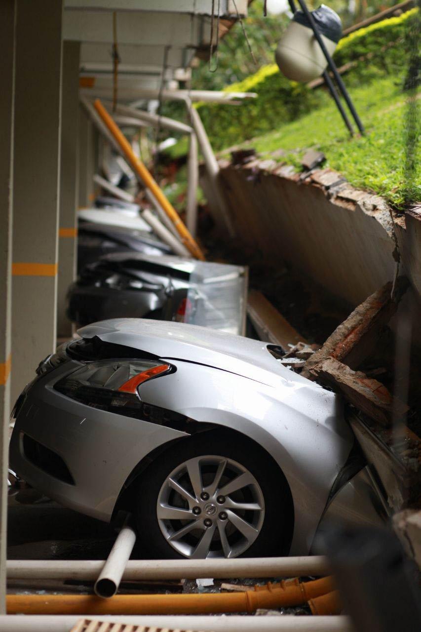 Desabamento da Garagem 210 Norte