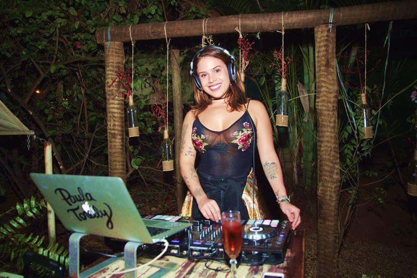 DJ Paula Torelly no Cantucci Bistrô - Crédito Divulgação