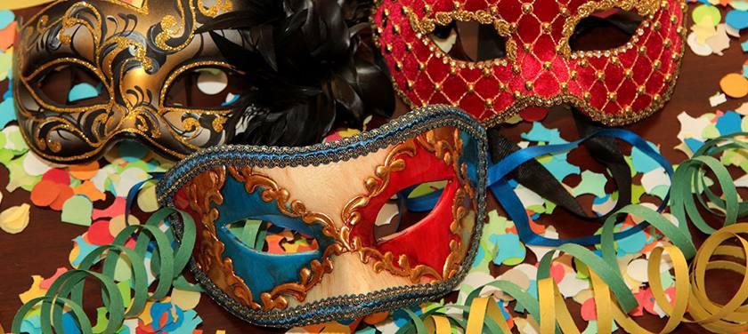 Máscaras do Carnaval em Veneza - Crédito Divulgação