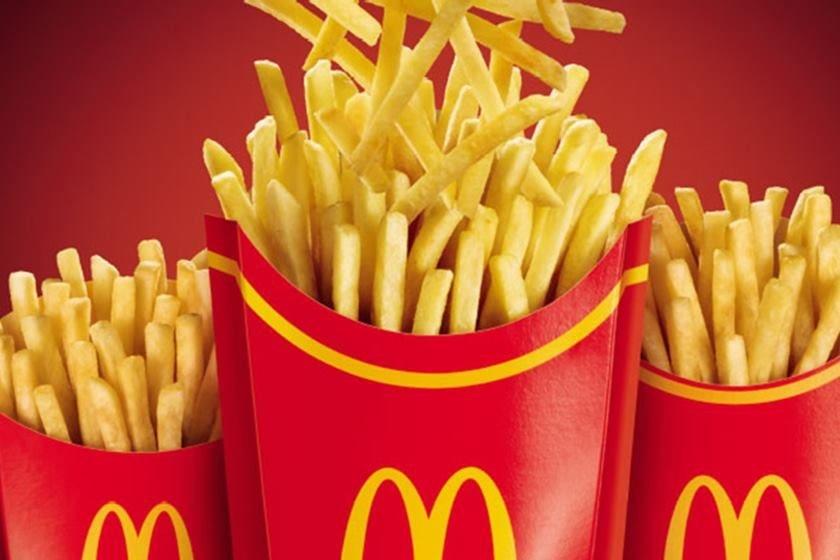 Químico nas batatas fritas do McDonald's pode acabar com calvície