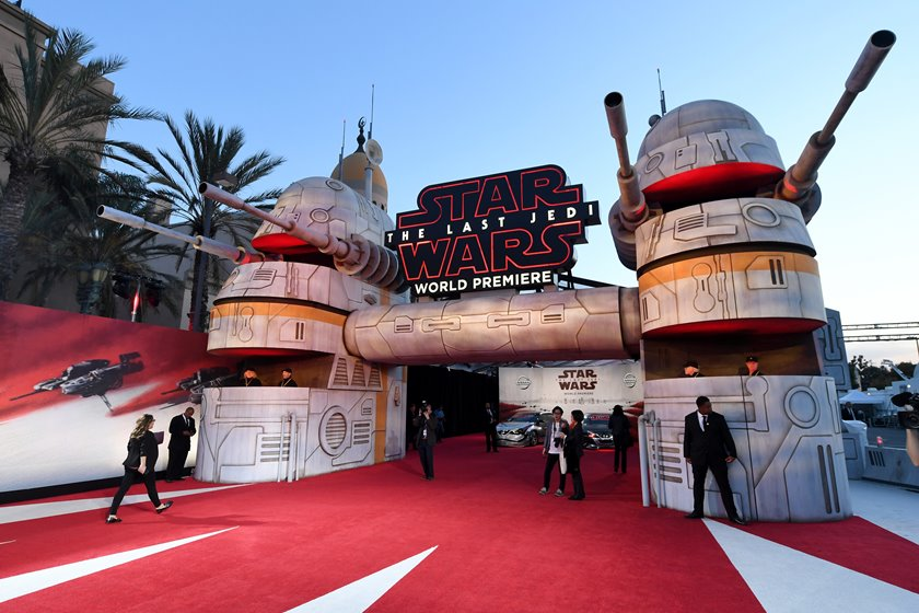 Premiere Of Disney Pictures And Lucasfilm