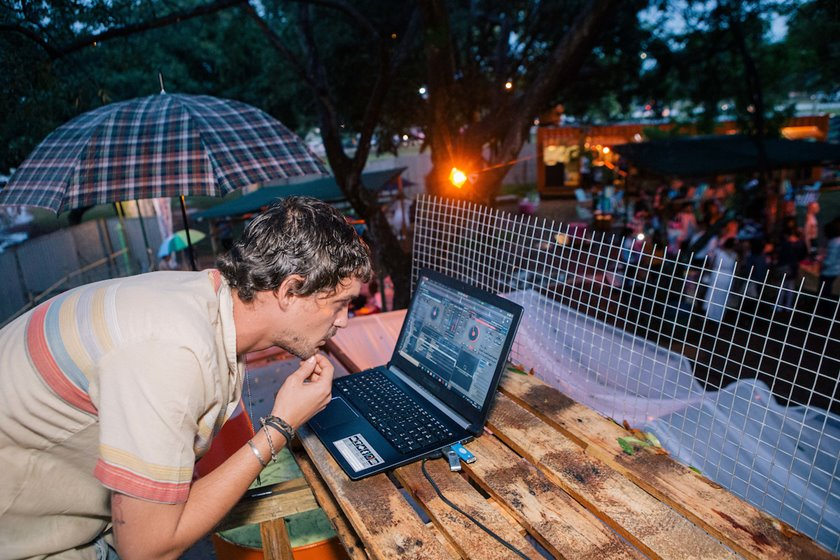 Brasília (DF), 08/02/2018  - Evento: Tropix Mimo Bar + Circuito Bazar e Feira Tropical-  Local FUNARTE, MIMOBAR Foto: JP Rodrigues/Metrópoles