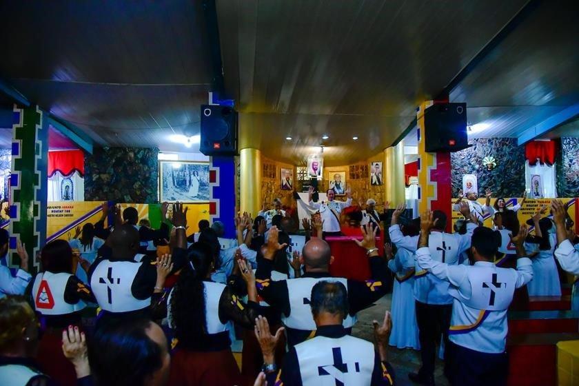 Brasília (DF), 08/02/2018  Processo da Tim contra a Ordem do Vale do Amanhecer Local: Rod. DF-15 km 10 - Vale do Amanhecer Foto: Hugo Barreto/Metrópoles