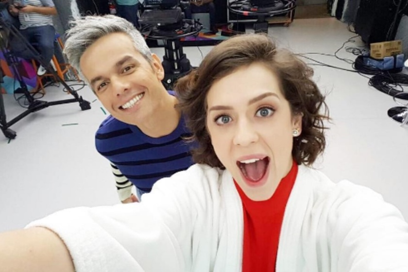 Sophia Abrahão e Otaviano Costa