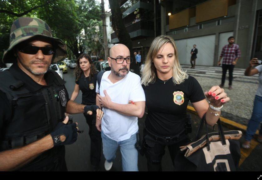 Presidente FECOMÉRCIO-RJ É PRESO