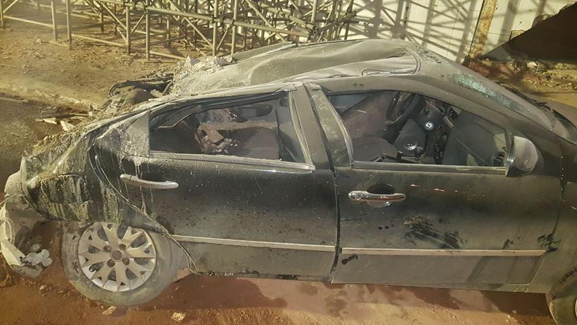 Carro escombros Eixão