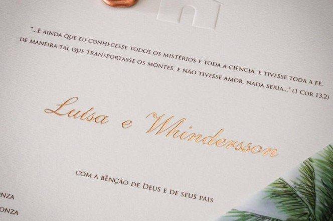 Casamento de Whindersson Nunes com Luísa Sonza