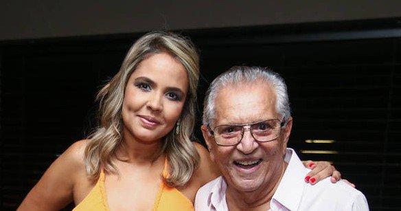 Carlos Alberto e Renata Domingues