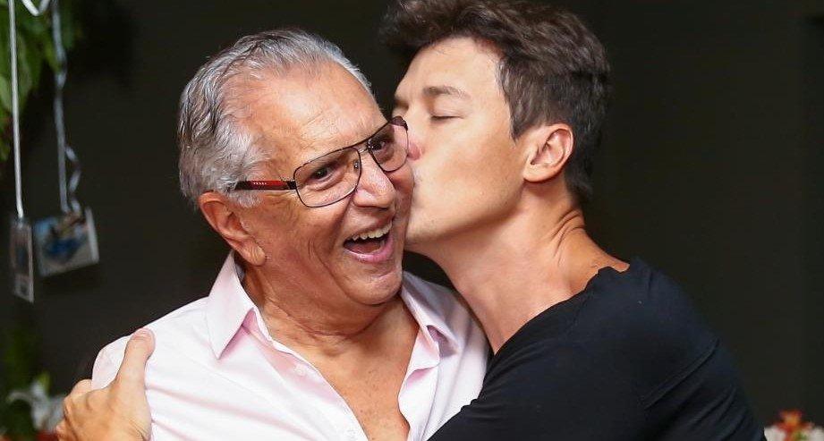 Carlos Alberto e Rodrigo Faro