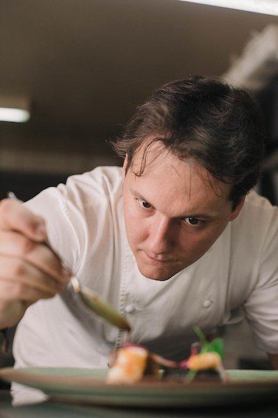 Goiânia (GO), 27/02/2018 IZ Goiânia e o perfil do chef Ian Baiocchi Local: IZ Goiânia Foto: Bruno Pimentel/Metrópoles