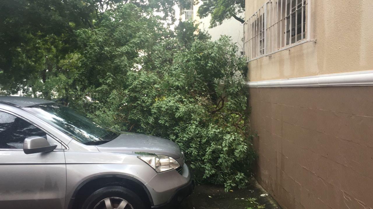 chuva na Asa Sul, quadra  411