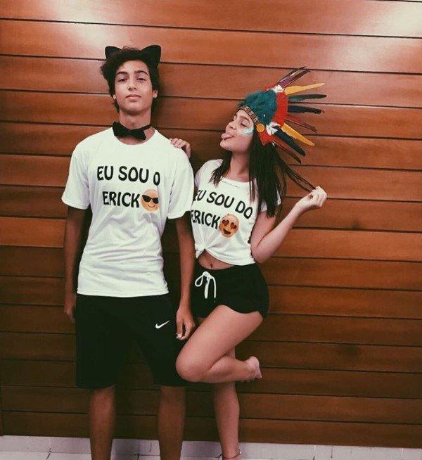 Mel Maia e namorado