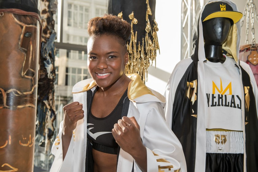 Nicola Adams Collection Launch - Photocall