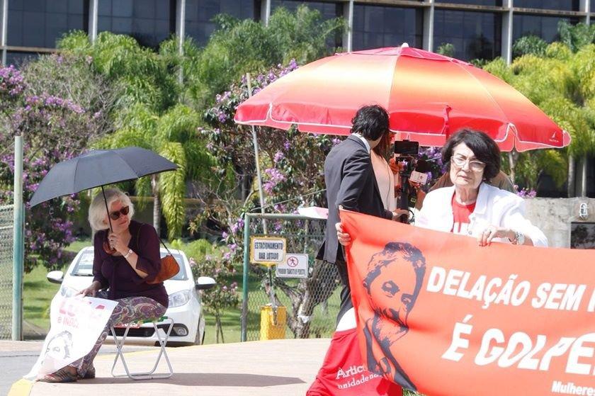 manifestantes STJ