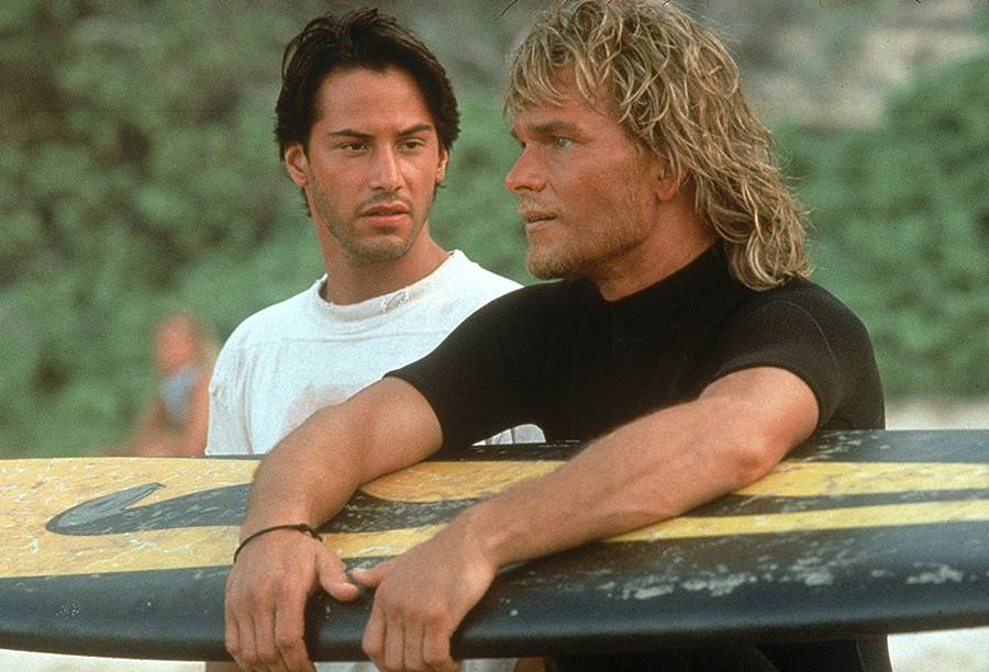 caçadores de emocao point break 1991