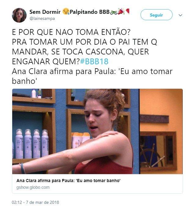 Ana Clara banho 5