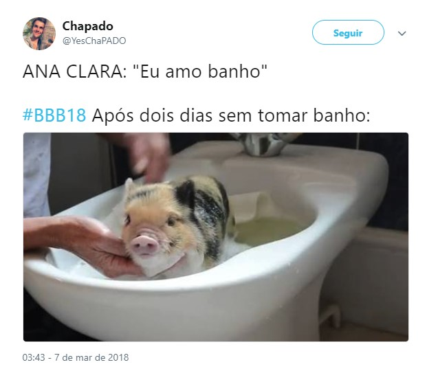 Ana Clara banho 4